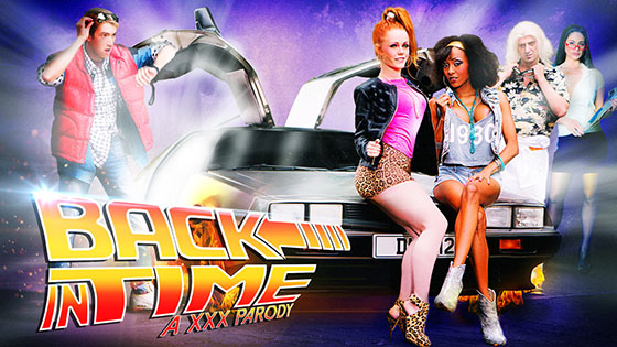 DigitalPlayground: Back In Time A XXX Parody NEW Ingles