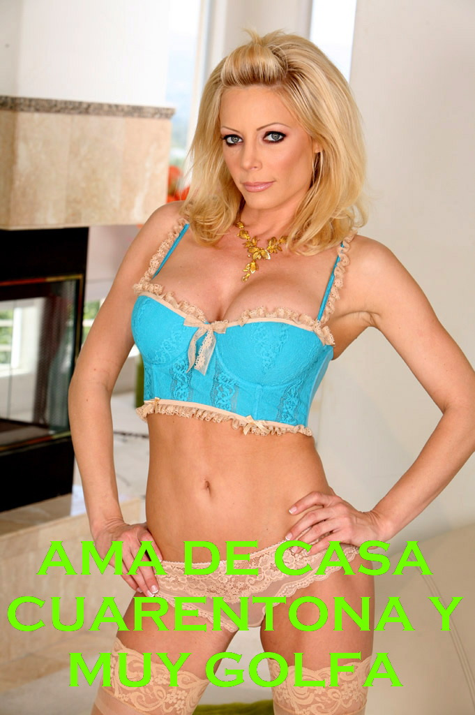 Ama de casa cuarentona y muy golfa (Holly Sampson)