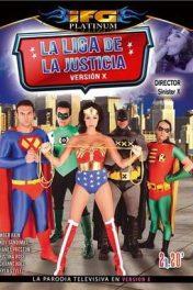 La liga de la justicia X Versión X