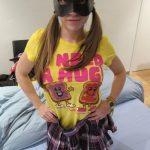 Imagen Tres rabos para la teen tetona, Leticia