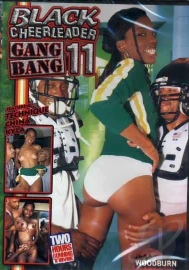 Black Cheerleader Gang Bang  11