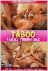 Taboo Family Threesome