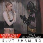 Imagen Slut Shaming Batman