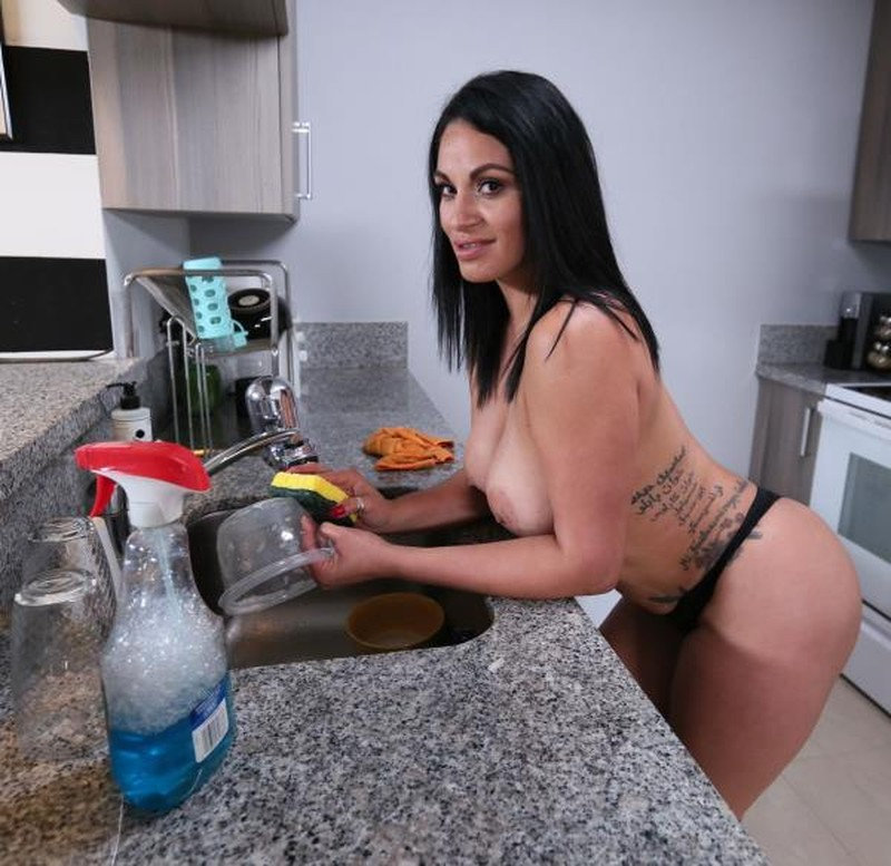 Slamming My Hot Cuban Maid (Cristal Caraballo)
